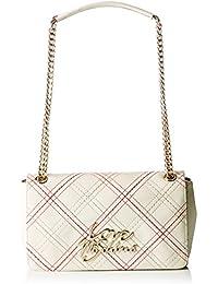 Love Moschino - Moschino, Shoppers y bolsos de hombro Mujer, Elfenbein (Ivory), 9x16x28 cm (B x H T)