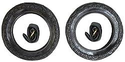 62-203 Scooter 2x Weiß Kinderwagen Reifen 12 1//2 X 2 1//4
