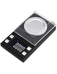 Precisa Báscula Electrónica De Alta Precisión 0.001G, Mini Joyas Scale100g 0.001 Quilates, Ingredientes