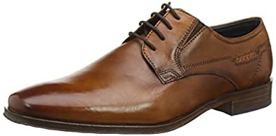bugatti  R40051W, Chaussures de ville à lacets pour homme Marron Cognac 46