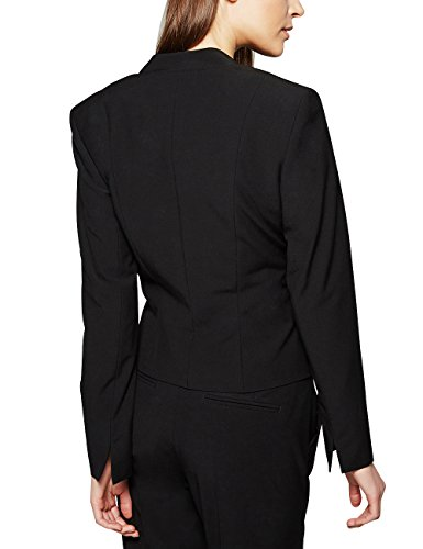 Comma Damen Blazer 85.899.54.0126 Schwarz (black 9999)