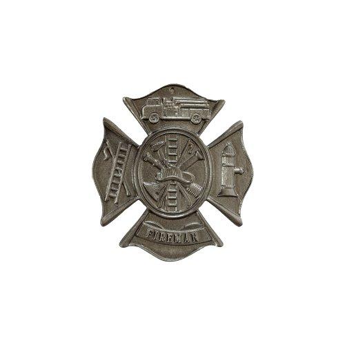 Montague Metall Produkte Feuerwehrmann Malteser Kreuz Wandschild, Schwedisch Eisen (Feuerwehrmann-statuen)