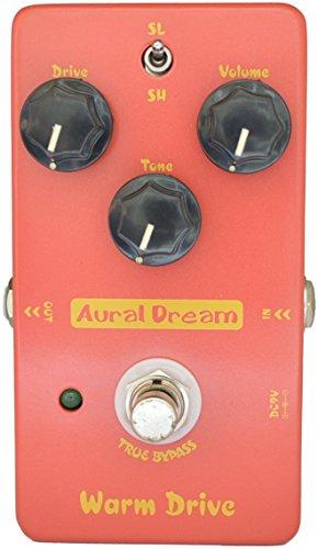Aural Dream Warm Drive Low-gain Blues 2 models Overdrive Guitar Effect Pedal True Bypass