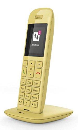 Telekom Speedphone 11 gelb mit DECT Basis – wahlweise nutzbar am IP Anschluss oder am analogen a/b Port