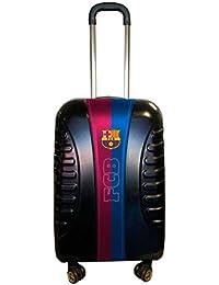 Karactermania Fc Barcelona Equipaje de Mano, 54 cm, 35.5 Litros, Negro