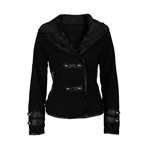 zolimx-frauen-winter-pelz-kragen-parka-mantel-outwear-kurze-jacke-m-schwarz