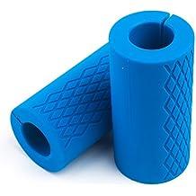 Barra para mancuernas Tosnail y constructor de músculo de barra gruesa.
