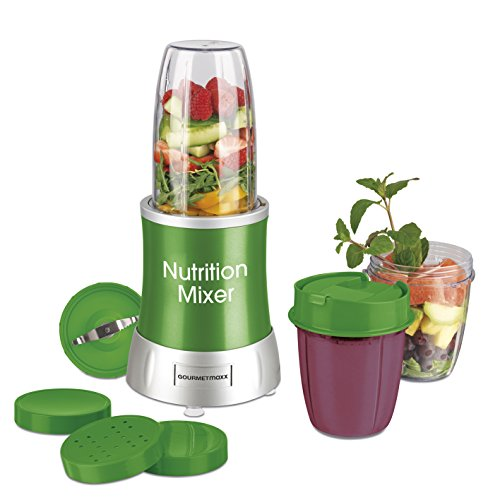 GOURMETmaxx 09819 Nutrition Mixer für Smoothies, grün -