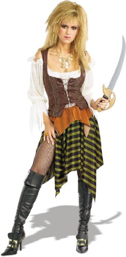 Pirate Of The Seven Seas Pirate Wench Adult One Size Fits Most