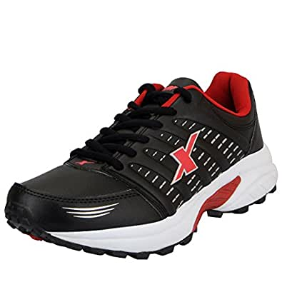 Sparx SM 241-44 Black Red Running Shoes
