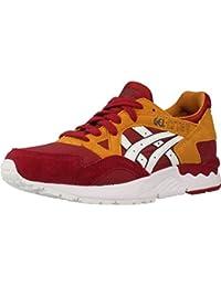 c08705d96 Amazon.es  asics rojas - Zapatillas   Zapatos para mujer  Zapatos y ...