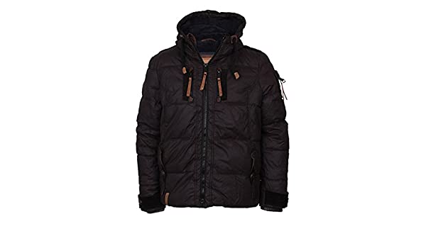 Naketano Italo Pop II Jacket Black Size: M Black: Amazon.co