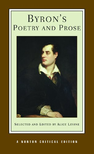 Byron's Poetry and Prose (Norton Critical Editions)