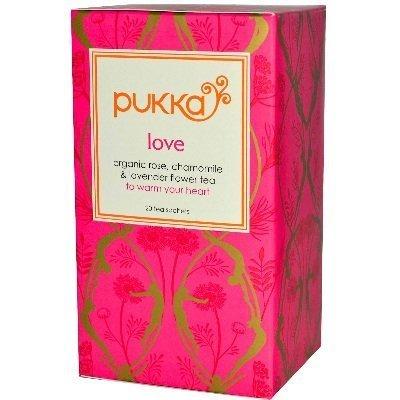 Organic Love Rose & Chamomile Herbal Tea - 20bags