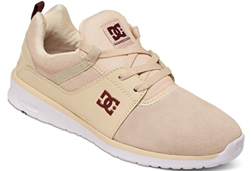 DC Shoes Heathrow Se J, Baskets Basses femme Beige