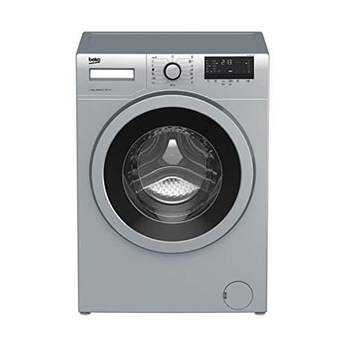 Beko WTV 8632 XCX Independiente Carga frontal 8kg 1200RPM A+++ Acero inoxidable...