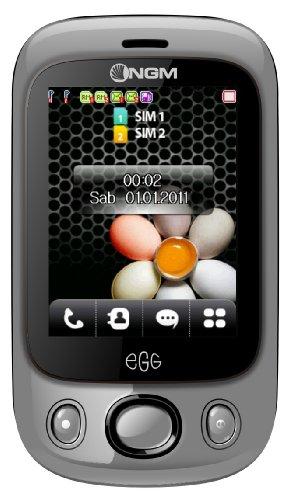 NGM Egg Dark Silver
