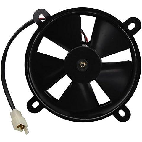 GOOFIT 12V DC Radiador Ventilador de Refrigeración para Taotao Snul Coolster Roketa ATV Quad Go-kart 200cc 250cc Refrigerado por