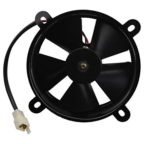 GOOFIT 12V DC Radiador Ventilador de Refrigeración para Taotao Snul Coolster Roketa...
