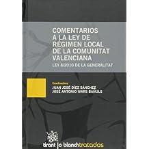 Comentarios a la Ley de Régimen Local de la Comunitat Valenciana