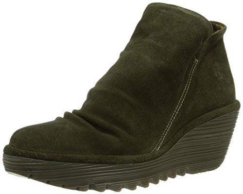 Fly London Yip, Boots femme Marron (Sludge 004)