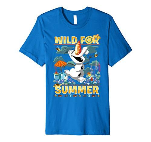 Disney Frozen Olaf Wild For Summer Fun Graphic T-Shirt - Summer Graphic T-shirt