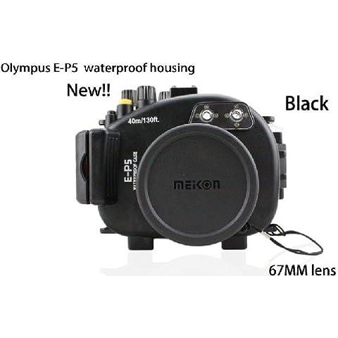 carcasa submarina para cámara Olympus E-P5(17mm) Lente - Carcasa acuática para cámaras