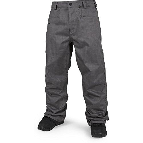Volcom Herren Snowboardhose Carbon Pants Charcoal, L -