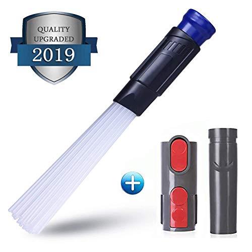 Bocchetta per Aspirapolvere Dusty Brush Vacuumax Adattatore Aspirapolvere Tubo Aspirapolvere Universale Fessibile per Presa