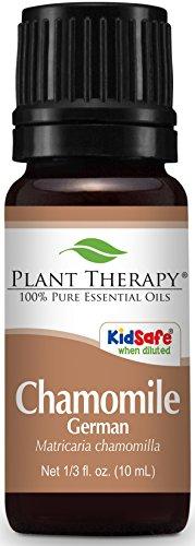 Plant Therapy Chamomile German Essential Oil 10 mL (1/3 oz) 100% Pure, Undiluted, Therapeutic Grade