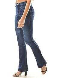 Flare Jeans Push-up rembourré