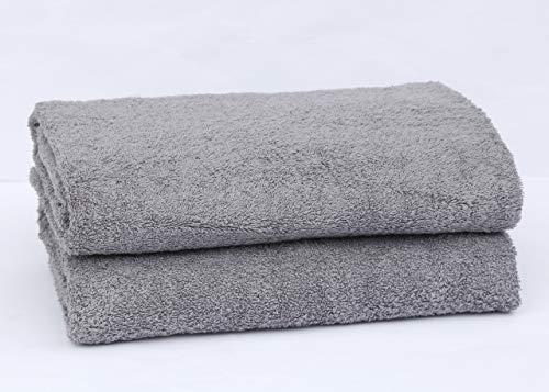 Rockfields Lot de 2 ou 4 draps de Bain 600 g/m² 100% Coton de qualité hôtelière, Super Doux et...