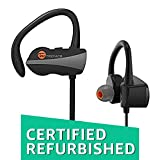 (Certified REFURBISHED) TaoTronics BH10 Sweatproof Bluetooth in Ear Earbuds with Mic (Black)