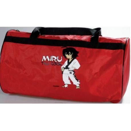 Kwon Miru 50150 - Bolsa de deporte para niño, diseño de Taekwondo con texto 'TKD Cool'
