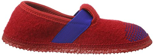 Giesswein Triptis, Chaussons fille Rouge - Rot (311 Rot)