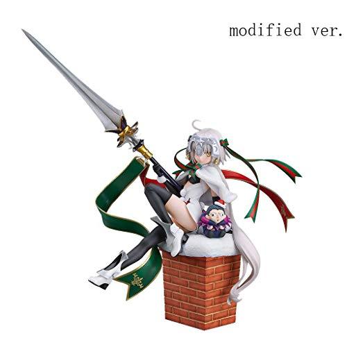 Schicksal: Großauftrag: Lancer Jeanne D'Arc Alter Santa Lily PVC-Figur - Arc Kamin