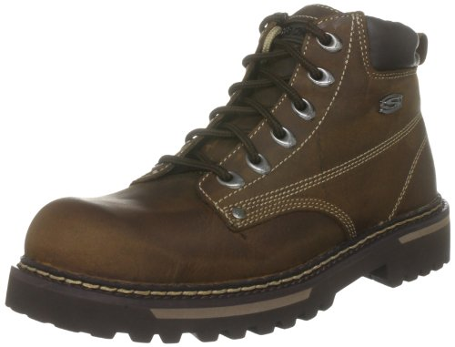 Skechers Cool Cat Bully, Men Warm Lining Chelsea Boots, Brown (Cdb), 9...