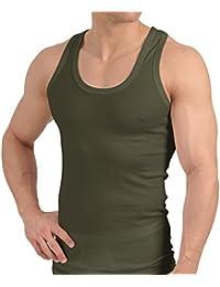 Tank Top - Herren Unterhemd Feinripp (glatt) - Sportjacke - 100% gekämmte Baumwolle - versch. Farben, Größen S bis 3XL - Highest Standard - Einlaufvorbehandelt - original CELODORO Exclusive