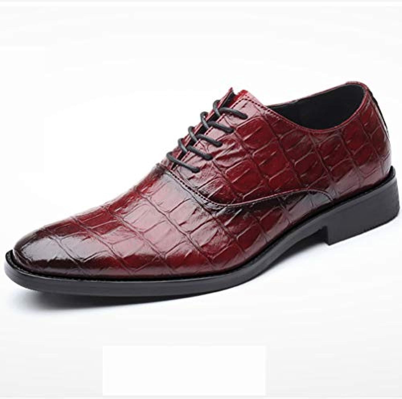 Derby Oxford da uomo in pelle pelle pelle da lavoro in pelle bassa in pelle verniciata in vernice ufficio scarpe da sposa... | Nuovo design diverso  | Uomo/Donne Scarpa  2d44f6