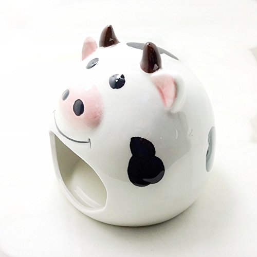 Hypeety Kleine Animal Versteck Keramik House Critter Badehaus Cave Mini Hütte Käfig für Chinchilla Hamster -