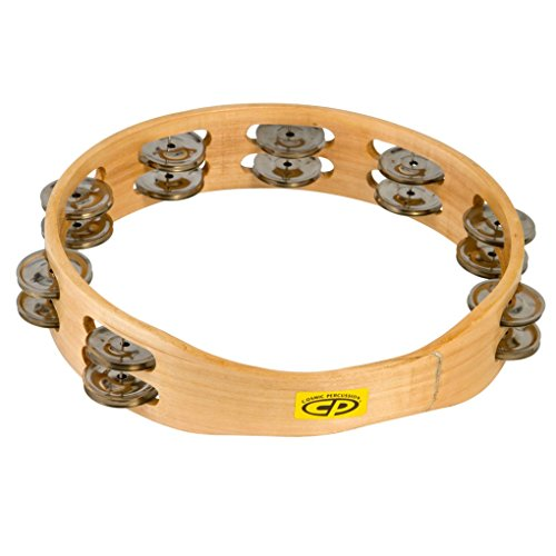 LP Latin Percussion CP Wood Tambourin Holz 10