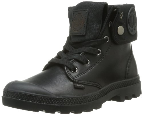 Palladium Baggy Leather F, Boots femme Noir (315/Black)