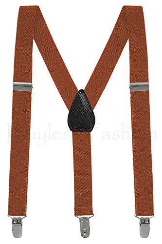 Buyless Fashion Kinder und Baby 2,5 cm Elastische verstellbare Y Hosenträger - Mit starken Clips - 5102 Farbe: Teal | Größe: 66 cm (3-9 Jahre) (Baby Mädchen Kleidung Teal)
