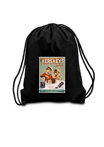 negro-hersheys-cordon-bolsa-de-la-escuela-pe-gimnasio-kit