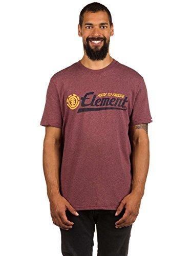 Element Signature T-Shirt oxblood heather