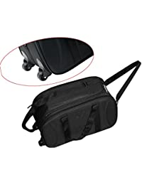 Matty Travel Duffel Bag, Lightweight Waterproof Luggage, Cabin Bag Shoulder Bag For Travelling With Wheels –(20x10x12...