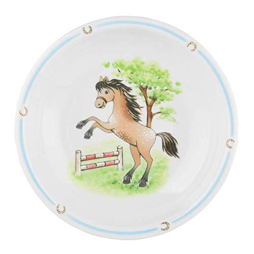 Seltmann Weiden 001.716559 Compact Mein Pony Suppenteller Rund Bunt