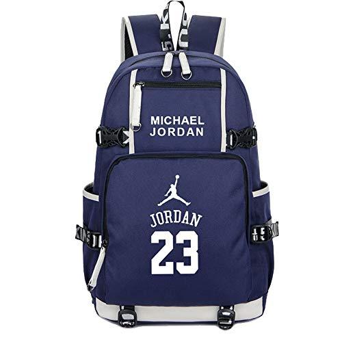 sale retailer 41a7b f390f SJYMKYC Basketball-Fans Schulrucksack Michael Jordan Backpack Messenger- Rucksack Sportrucksack Freizeitrucksack Reiserucksack Gym-Rucksack