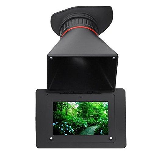 Gowe elektronischen Sucher 2,5x Vergrößerung SDI 8,9cm LCD-Bildschirm für DSLR Kamera Video BMPCC BMPC BMCC GH4FS7A7S -