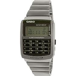 Casio CA-506-1DF Casio CA-506-1DF - Reloj para hombres color plateado